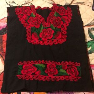 Gorgeous embroidered Spanish style top